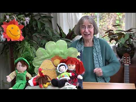 Hello, Mr. Turkey, how are you? - a cheerful Thanksgiving song for the young
