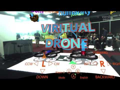 ドローンとVRの技術を融合して完成したエンターテイメント「バーチャルドローン」