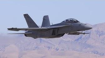 F-18 Super Hornet Demo at Aviation Nation 2016