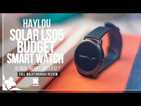 Haylou Solar LS05 Smart Watch – Full review [Xiaomify]