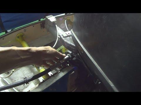 Подключение рулевого троса к Нептуну 23