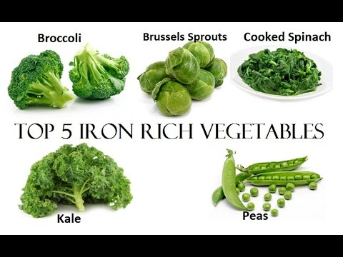 Top 5 iron rich vegetables youtube workwithnaturefo