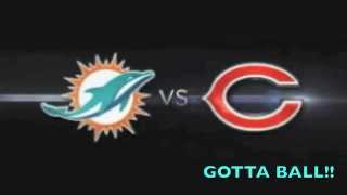 Miami Dolphins Vs Chicago Bears *Gotta Ball* #Week7 By SoLo D