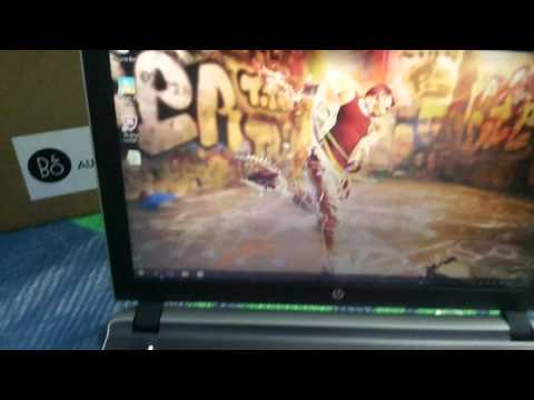 HP Pavilion 15 ab219TX Notebook Laptop start up