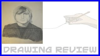 John Rzeznik (Goo Goo Dolls Singer) Pencil Drawing |Review|