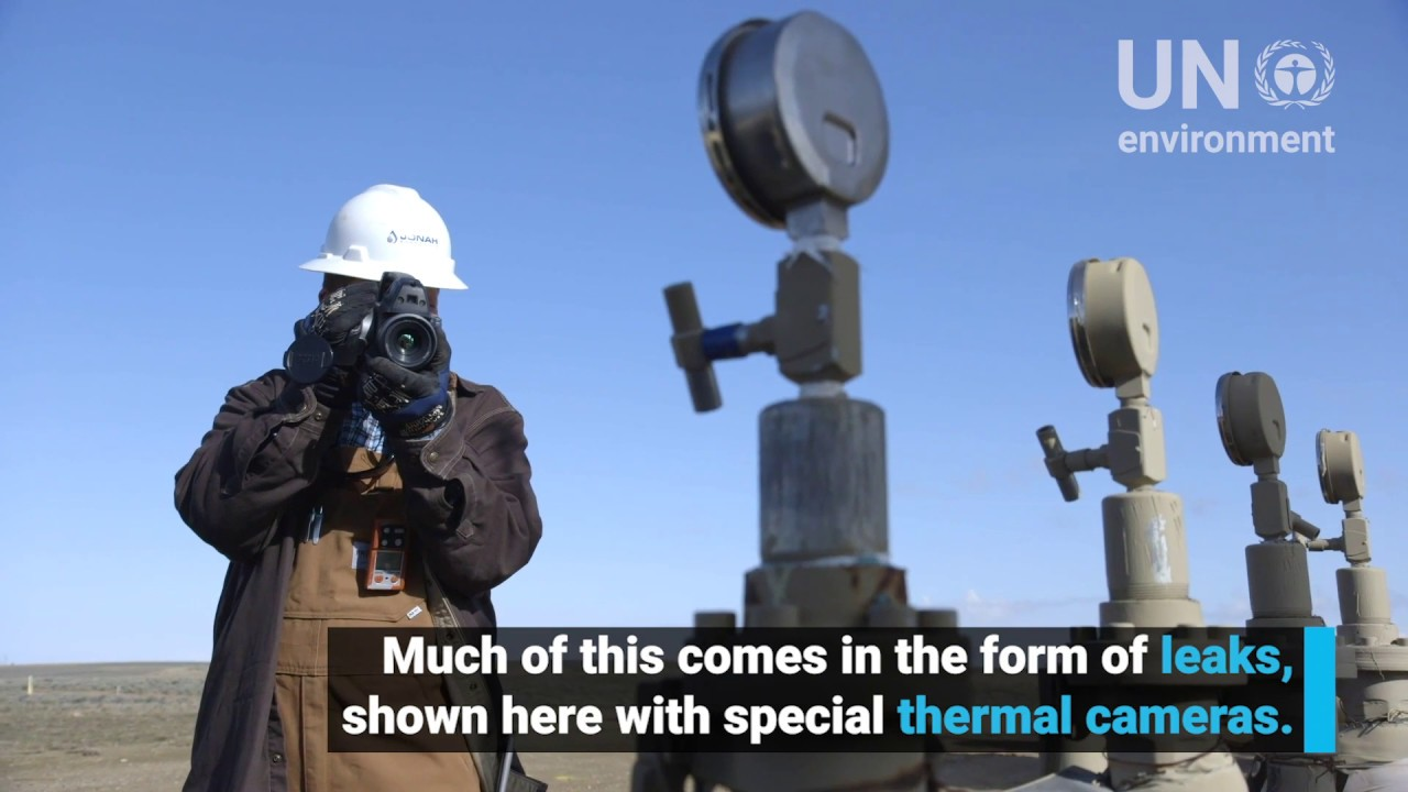 Invisible Emissions – High tech cameras reveal methane leaks