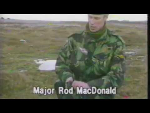 Mine Clearing in the Falkland Islands