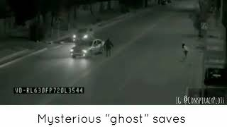 unbelievable, see how a ghost saves human - ORIGINAL VIDEO 2018