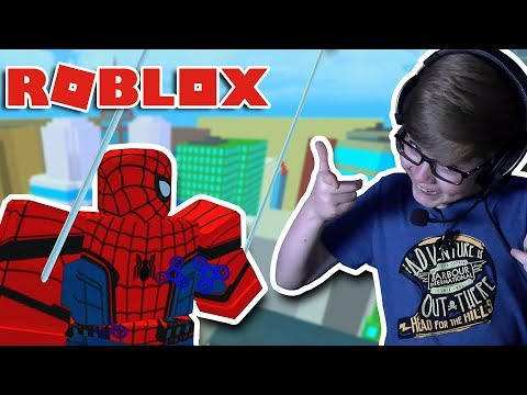 HEROES OF ROBLOXIA MISSION 5 SPIDER-MAN!! Roblox