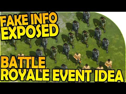 FAKE INFO EXPOSED + MULTIPLAYER BATTLE ROYALE EVENT IDEA! - Last Day On Earth Survival 1.6.7 Update