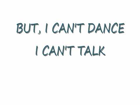 Genesis - I Can't Dance (Lyrics)