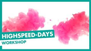Baixar Highspeed-Days 2018 | Workshop