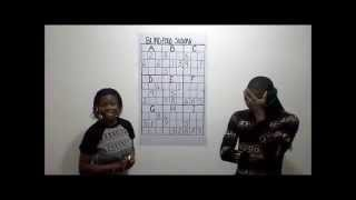 REAL BLINDFOLD SUDOKU EXHIBITION VIDEO