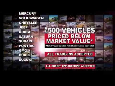 Giant Used Car Tent Sale June