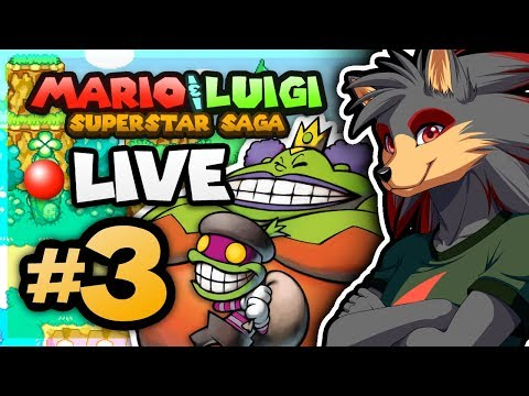 Mario & Luigi: Superstar Saga LIVESTREAM - PART 3 [September 18, 2017]