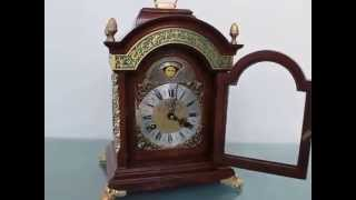 Warmink Luxe Mantel Clock Bracket Chime Xl Vintage Chime Dutch Time-wised Ebay
