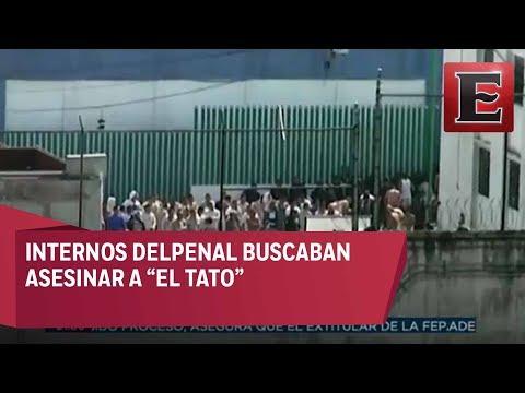 Motín en Penal de Chiconautla por traslado de 'El Tato'