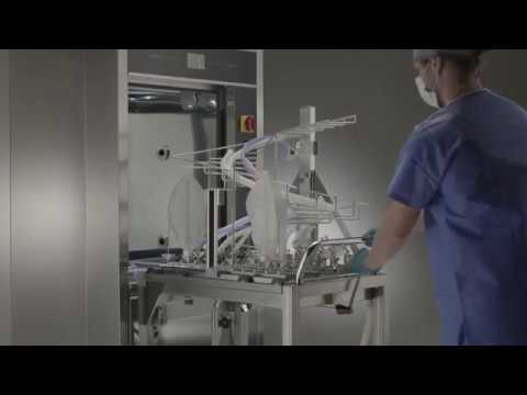 Smeg Instruments - WD7010 with anaesthesia equipment
