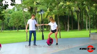 How to ride electric unicycle, #KingSong Tutorial in English subtitle