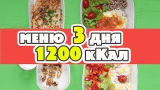 Вкусно! Доступно! МЕНЮ НА ДЕНЬ 1200 кКал: Заготовки еды на 3 дня. Завтрак Обед Ужин Перекусы