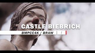 BRAW: blackmagic pocket cinema camera 4k film: Schloss Biebrich, Wiesbaden in 4K