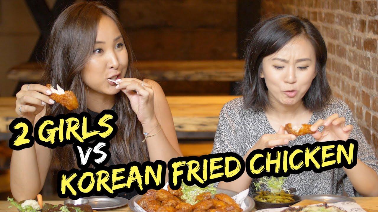 Two girls having sec