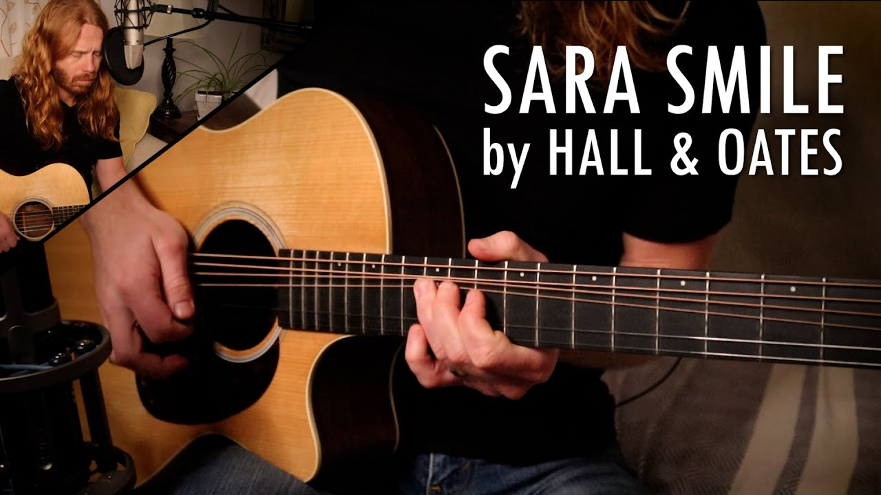 """Sara Smile"" by Hall & Oates - Adam Pearce (Acoustic Cover)"
