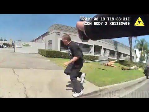 Bodycam Footage of Buena Park Police Officers Shooting David Patrick Sullivan