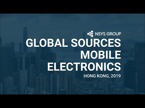 NSYS GROUP at Global Sources Mobile Electronics in April 2019