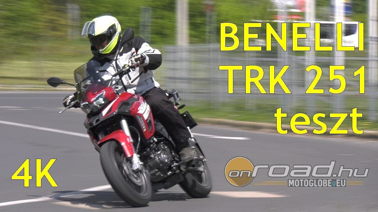 Benelli TRK 251 Teszt