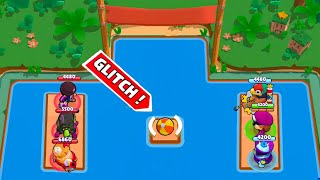 NEW GLITCH BALL MAP!!!Brawl Stars Funny Moments & Glitches & Fails #366