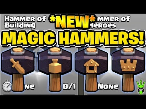 HOW TO USE THE *NEW* MAGIC HAMMERS! -