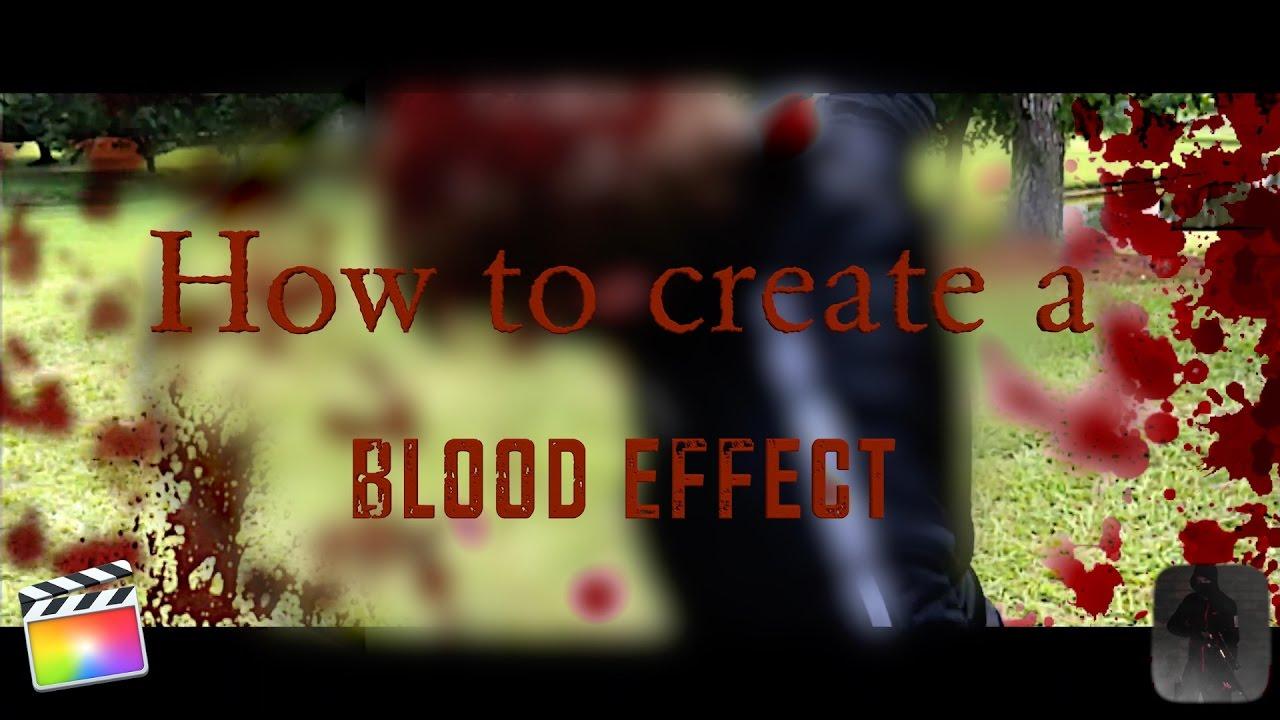 Compositing Blood effects|Final Cut Pro X|Tutorial