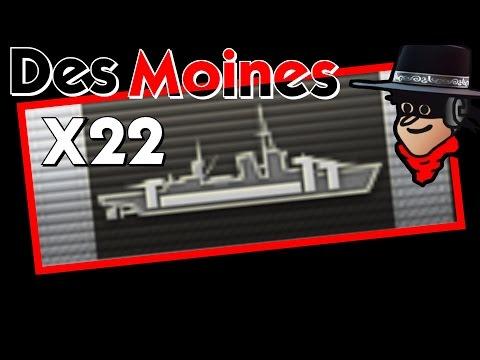 22 CITADELS || Des Moines 252K DMG Kraken 4000 b. XP ||  World of Warships