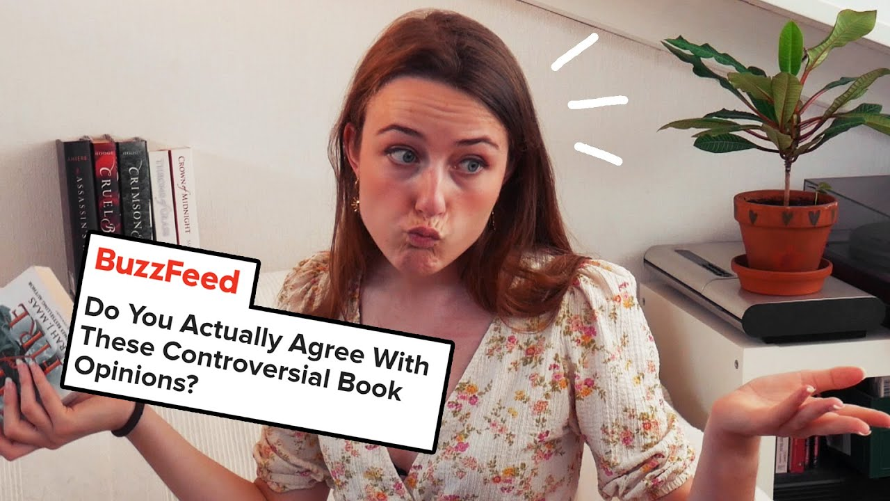 Comparing my controversial book opinions to BuzzFeed
