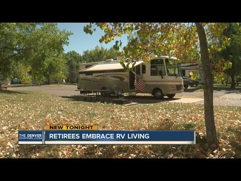 Retirees embracing RV living