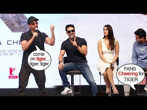 Hrithik Roshan's Unbelievable CRAZZY Reaction when FANS start Cheering 4 Tiger Shroff @WAR Promo. Mp3