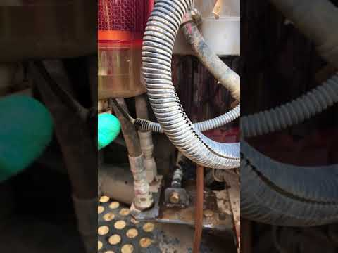 hitachi dash fuel water mixture and fixing the problem