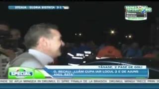 VIDEO! Gigi s-a urcat pe masina, TIKI TAKA BARCELONA
