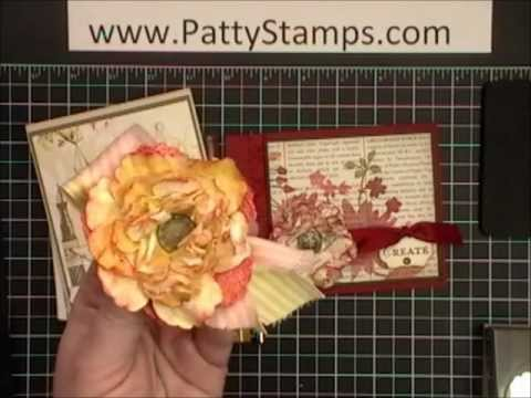 Paper flowers with stampin up blossom punch youtube paper flowers with stampin up blossom punch mightylinksfo