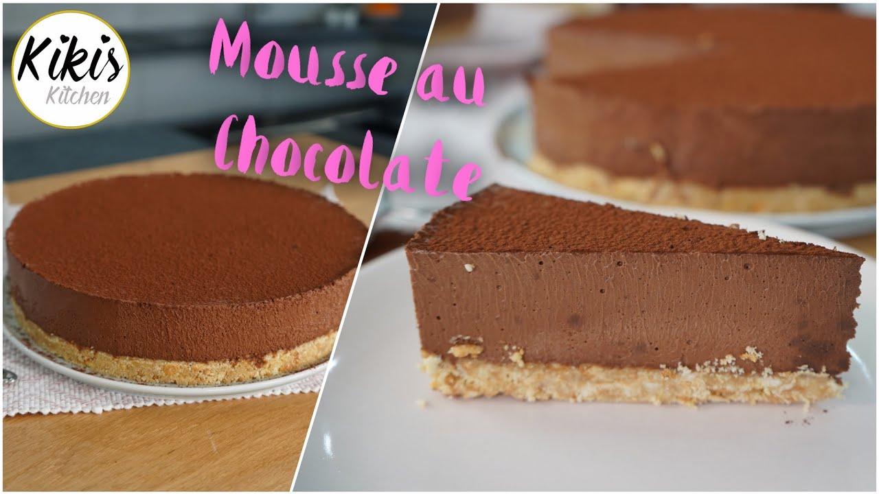 ohne backen mousse au chocolate torte  luftig und