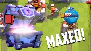 Clash Royale - Gemming to Max #18: Epics = MAXED!