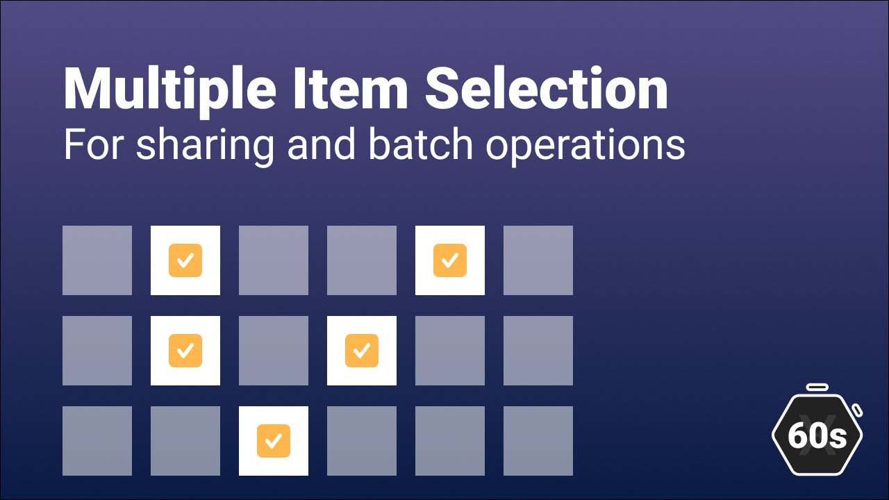 Selecting Multiple CollectionView Items in Xamarin.Forms