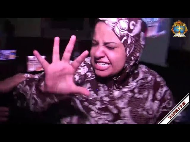 Muslim jinn cast out in Jesus Name @ Egyptian Church (Subtitles)