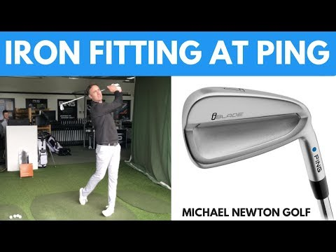My Iron Fitting At PING Fitting Centre