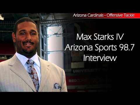 Arizona Sports 98.7 Talks w/Max Starks - Arizona Cardinals