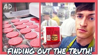 One of Doug Armstrong's most viewed videos: ARE MCDONALD'S BURGERS REALLY 100% BEEF?!