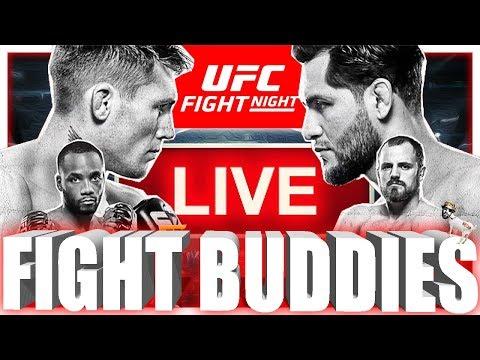 🔴 UFC FIGHT NIGHT 147 TILL VS MASVIDAL + EDWARDS VS NELSON LIVE FIGHT REACTION!