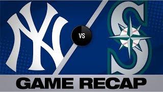 Judge, Yanks crank 4 homers vs. the Mariners | Yankees-Mariners Game Highlights 8/28/19