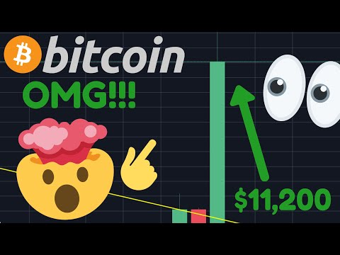 INSANE!! BITCOIN IS BREAKING OUT RIGHT NOW!!!!